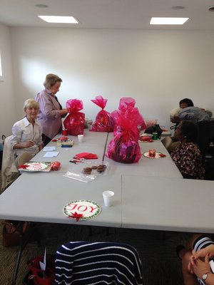 Broadway church of Christ gift baskets for the elderly